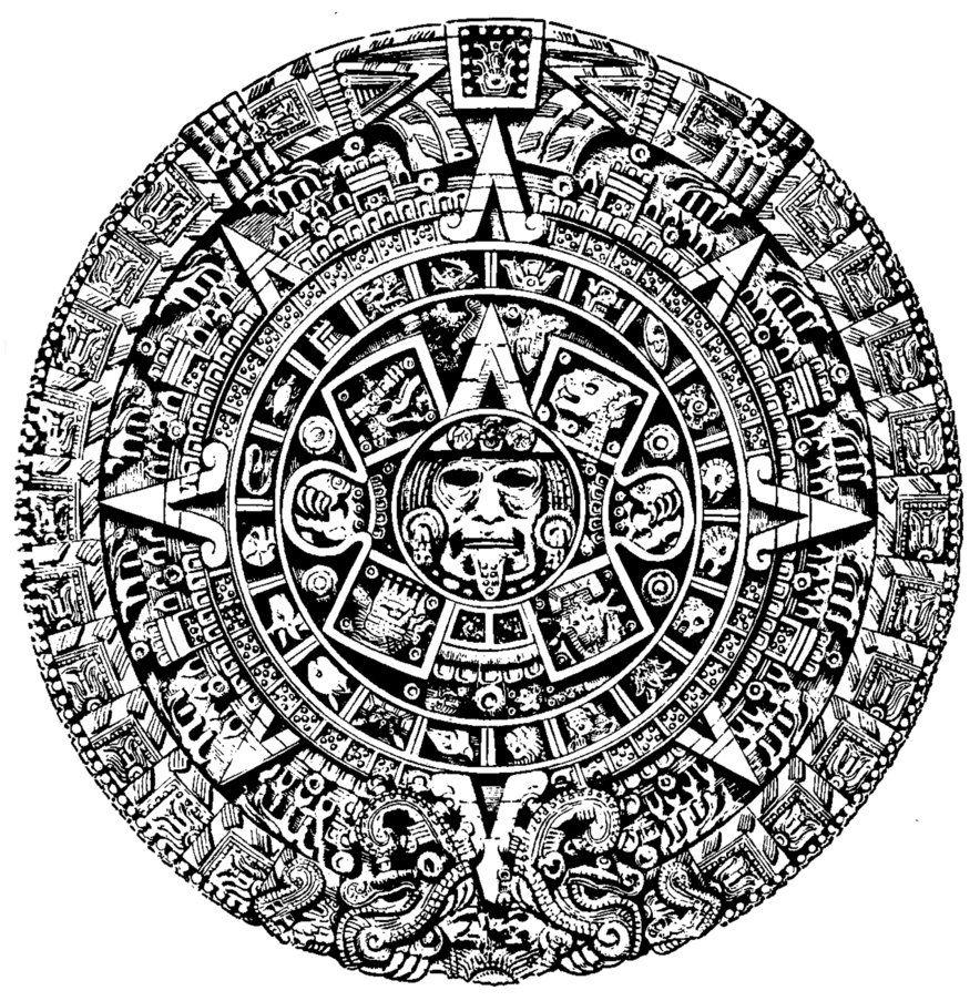 Este es el calendario tradicional mexicana. Así es como los aztecas ...