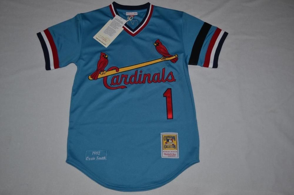 huge selection of 8b52e 4a758 Mitchell & Ness Ozzie Smith 1982 Authentic Jersey St. Louis ...