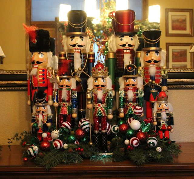 southern seazons nuts about nutcrackers christmas mantels christmas 2017 christmas holidays merry - Nutcracker Christmas Decorations