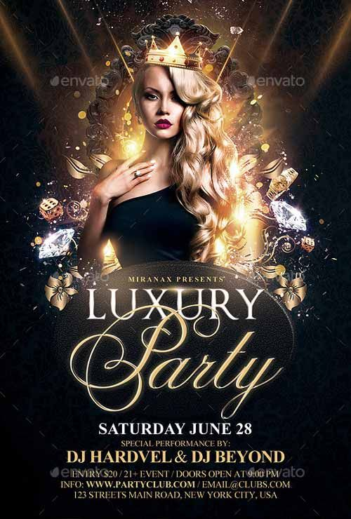 Luxury Flyer Psd Template Httpffflyerluxury Flyer Psd