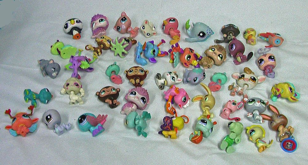 Lps Littlest Pet Shop Huge Lot 104 Pets Plus Accessories Lp Hasbro Child Toys Hasbro Littlest Pet Shop Pet Shop Pet Accessories