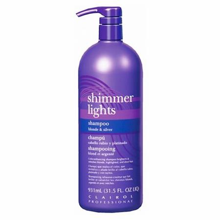 Clairol Professional Shimmer Lights Shampoo 31.5 oz