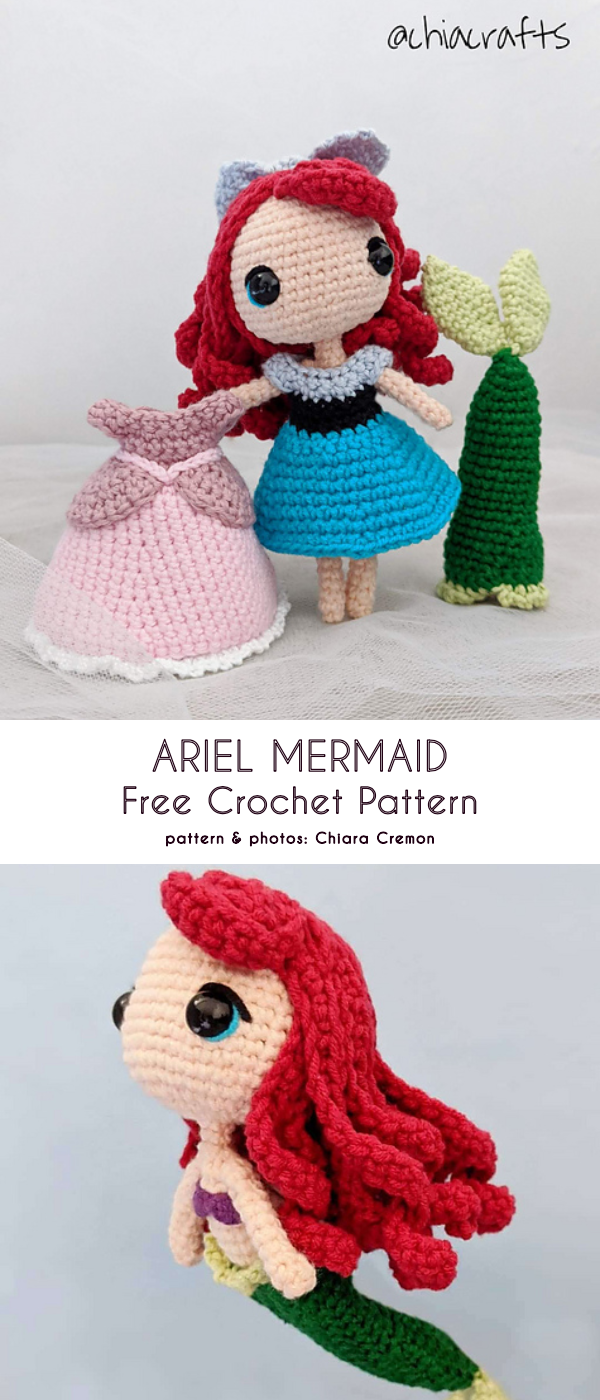 Photo of Movie Character Tiny Doll Free Crochet Patterns