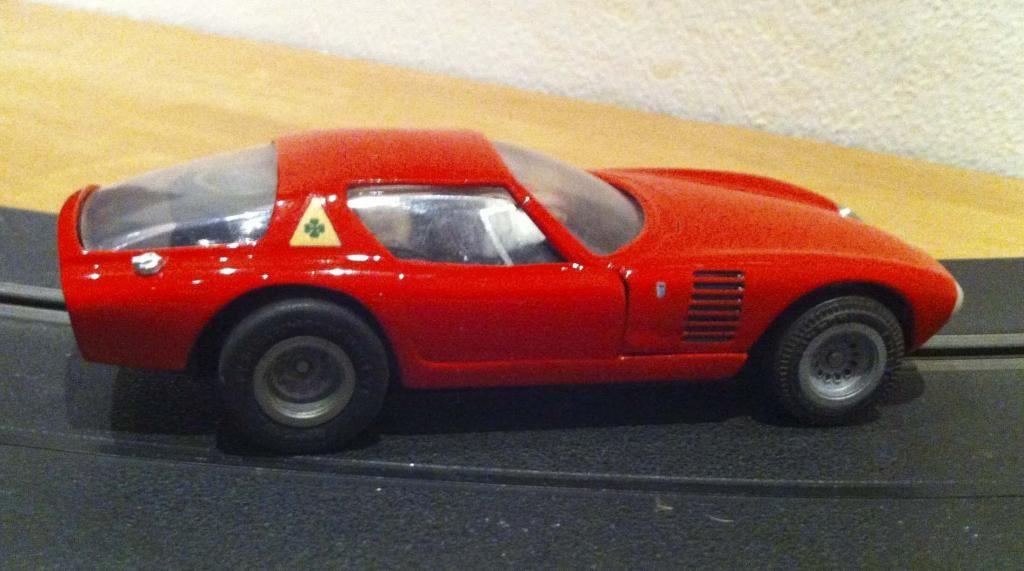 Alfa Romeo Canguro 1/32 sv Roxy Toys with Fleischmann chassis