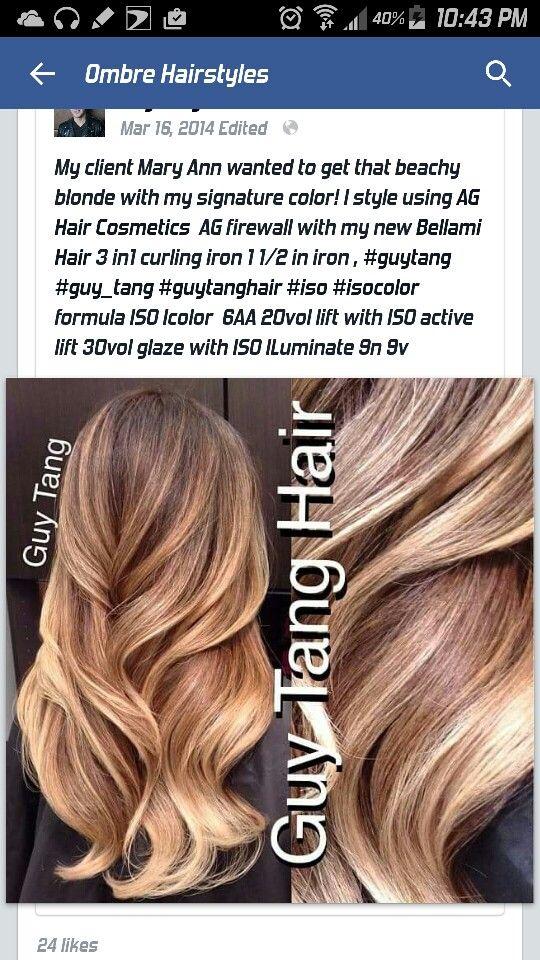 6aa Color Hair Styles Pinterest Hair Style