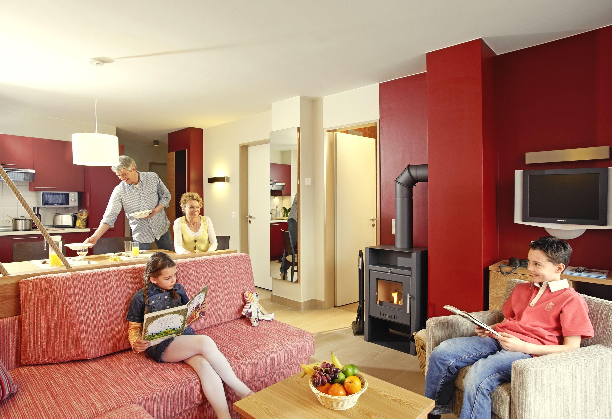 Die Appartements Lassen Keine Wünsche Offen Und Sind Neben Küchenzeile, Wohn  /Esszimmer,