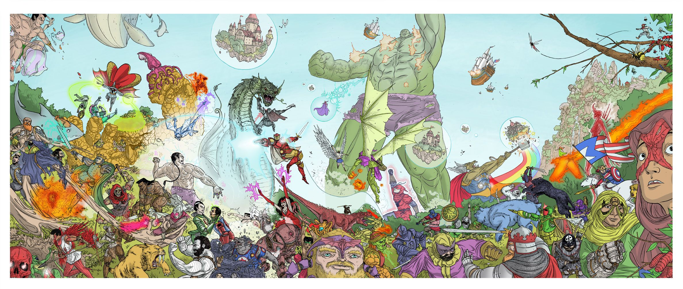 The Secret War of Marvel-La by UlisesFarinas.deviantart.com
