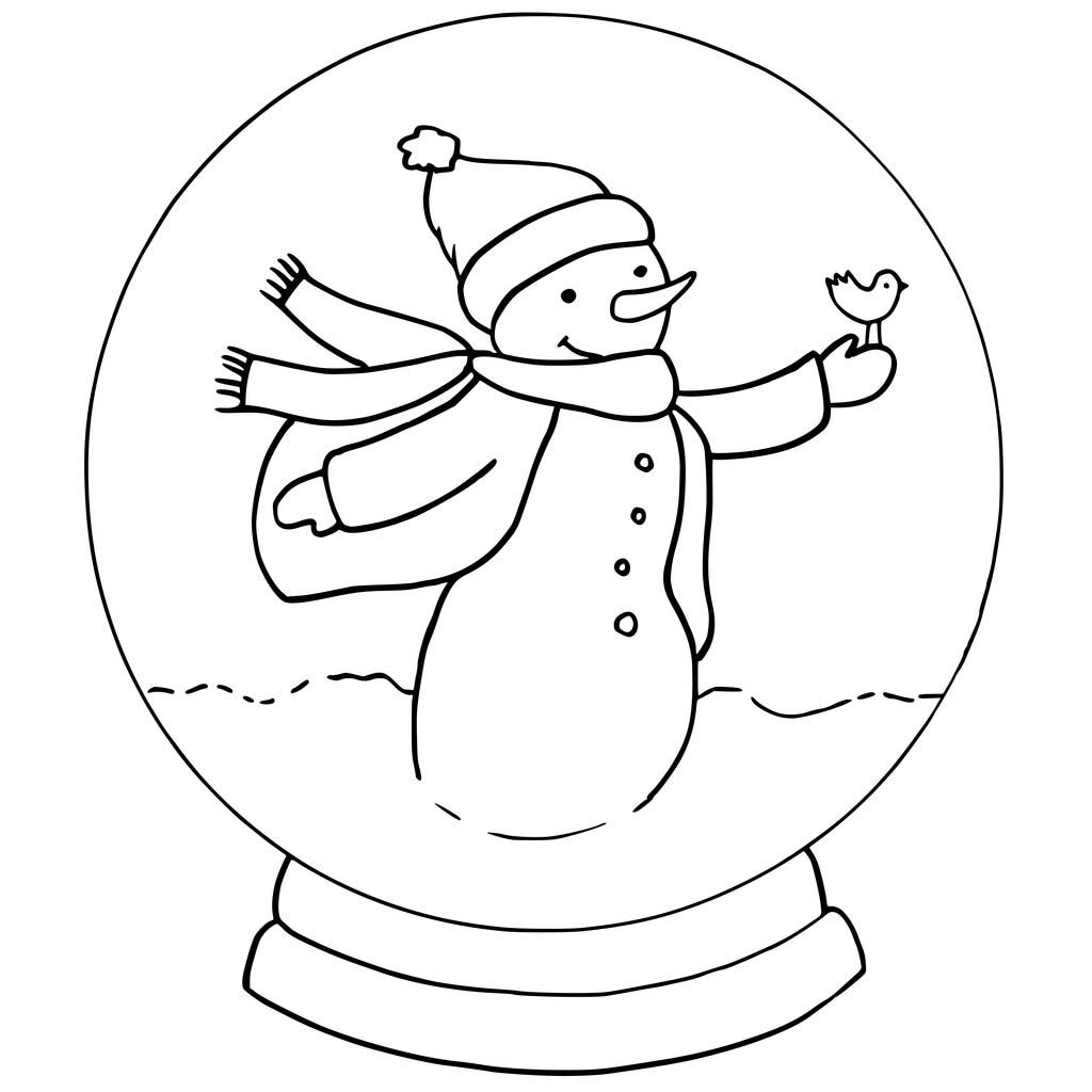 Snowglobe Coloring Pages Best Coloring Pages For Kids In 2020 Christmas Coloring Pages Coloring Pages Snow Globes
