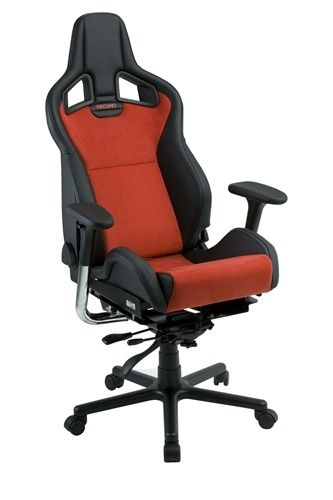 Recaro Sportster CS Office Chair by RaceChairs, a company in Pennsylvania.  The company creates