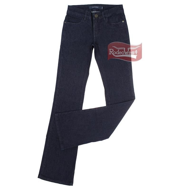 Calça Jeans Feminina Stretch Boot Cut Amaciada c/ Elastano - Tassa Gold: Mulheres