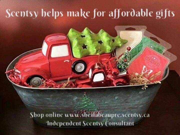 SCENTSY helps make for awesome and affordable Christmas ...