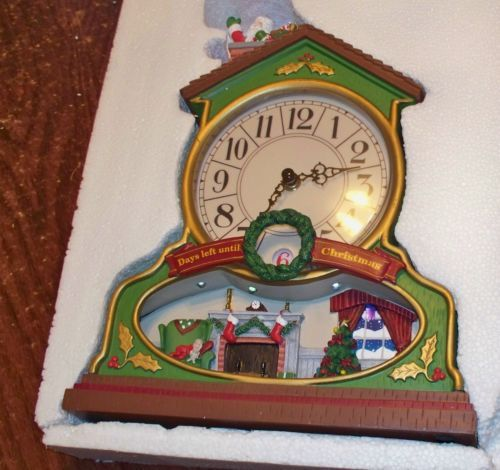Musical Christmas Countdown Clock - 2007 Avon - bought to create ...