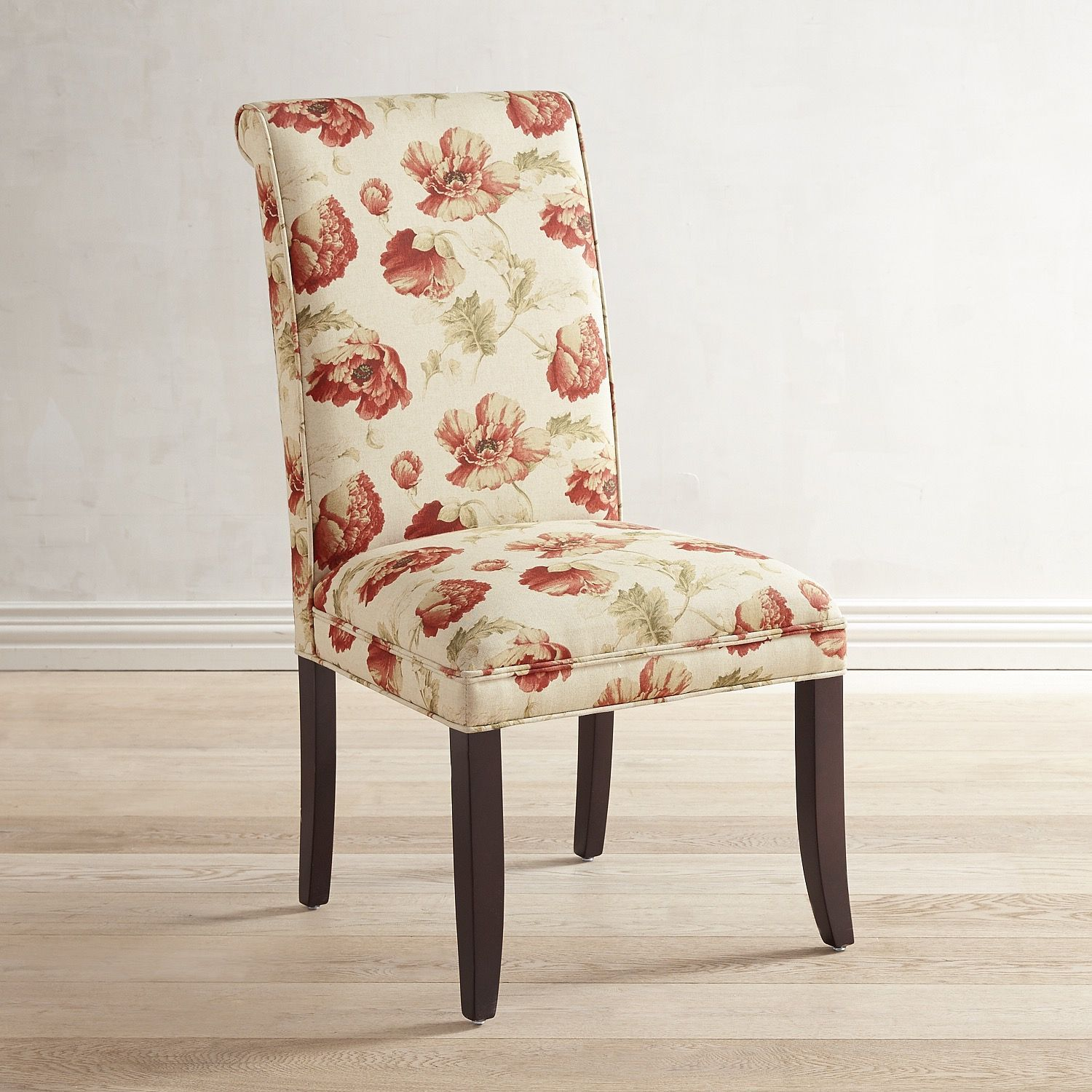 Amazing Literally, In The Case Of Our Angela Dining Chair. The Classic Parsons  Silhouette Gets A Casual Rolled Back Update With Solid Wood Legs And  Satiny, ... Good Ideas