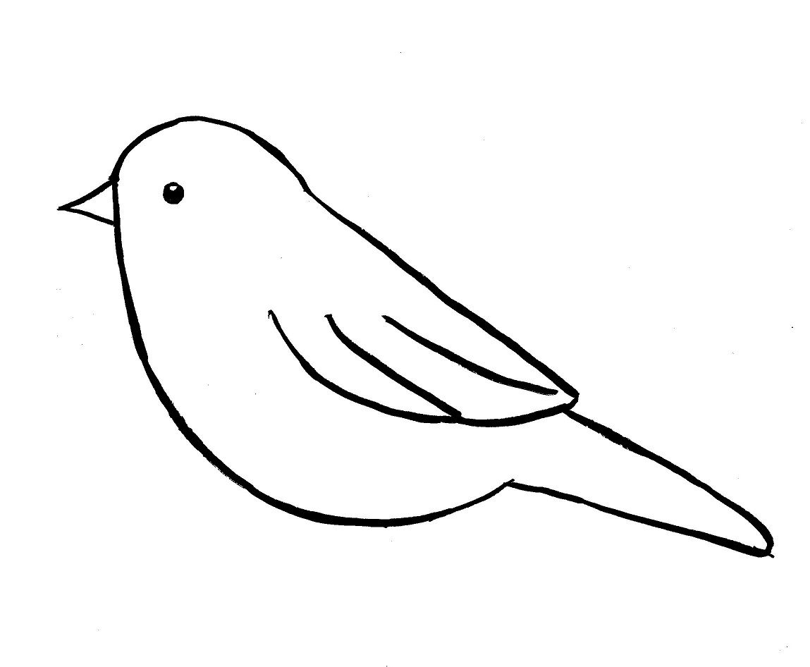 How To Draw A Bird Step By Step Easy With Pictures Birds Simple