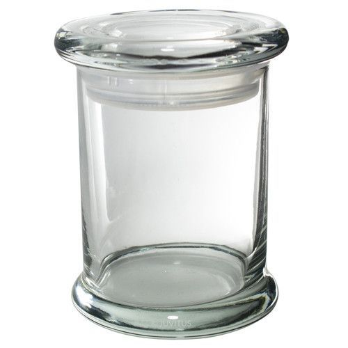 Candle Glass Jar With Airtight Glass Cover Lid 2 75 Oz 4 Pack