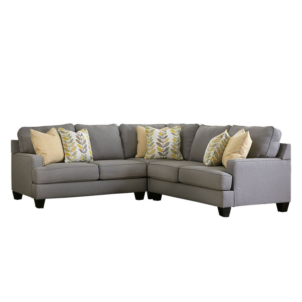 Chelsea 3-Piece Sectional | Living Room | 3 piece sectional ...