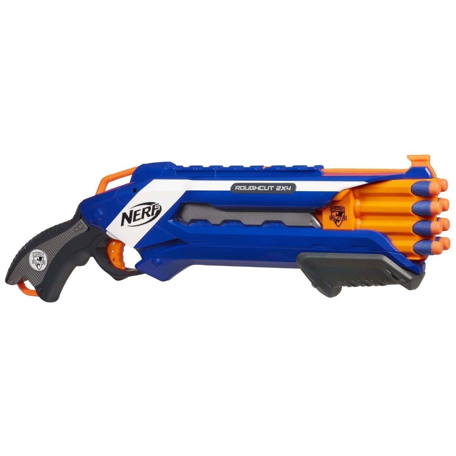 Find out how to this fun Nerf N Strike Elite Rough Cut 2x4