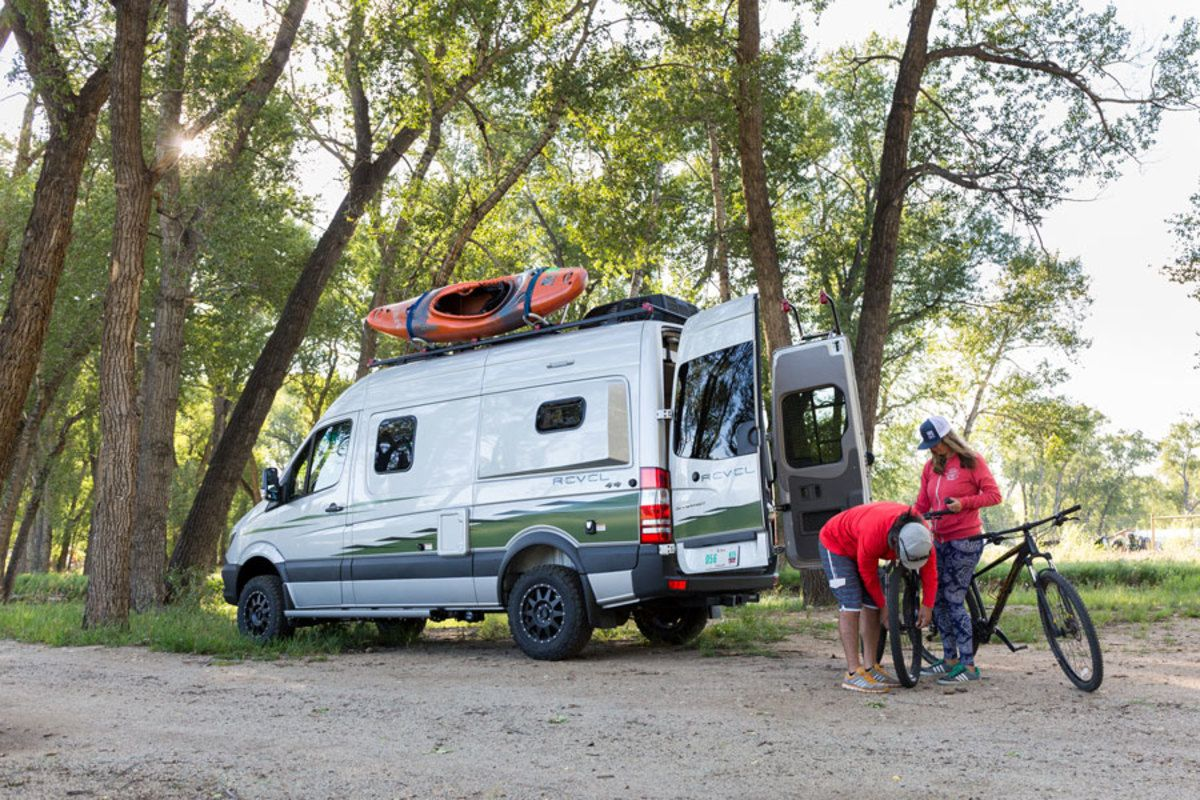 Take Your #Vanlife Game to the Next Level With This Go-Anywhere 4x4 ...