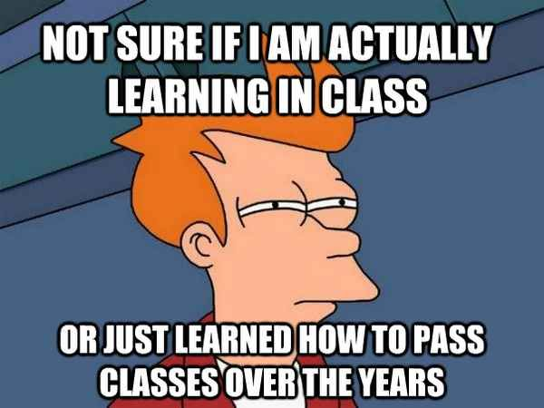 23 Terrifying Moments That Will Make College Students Go Shit College Memes College Life University Life