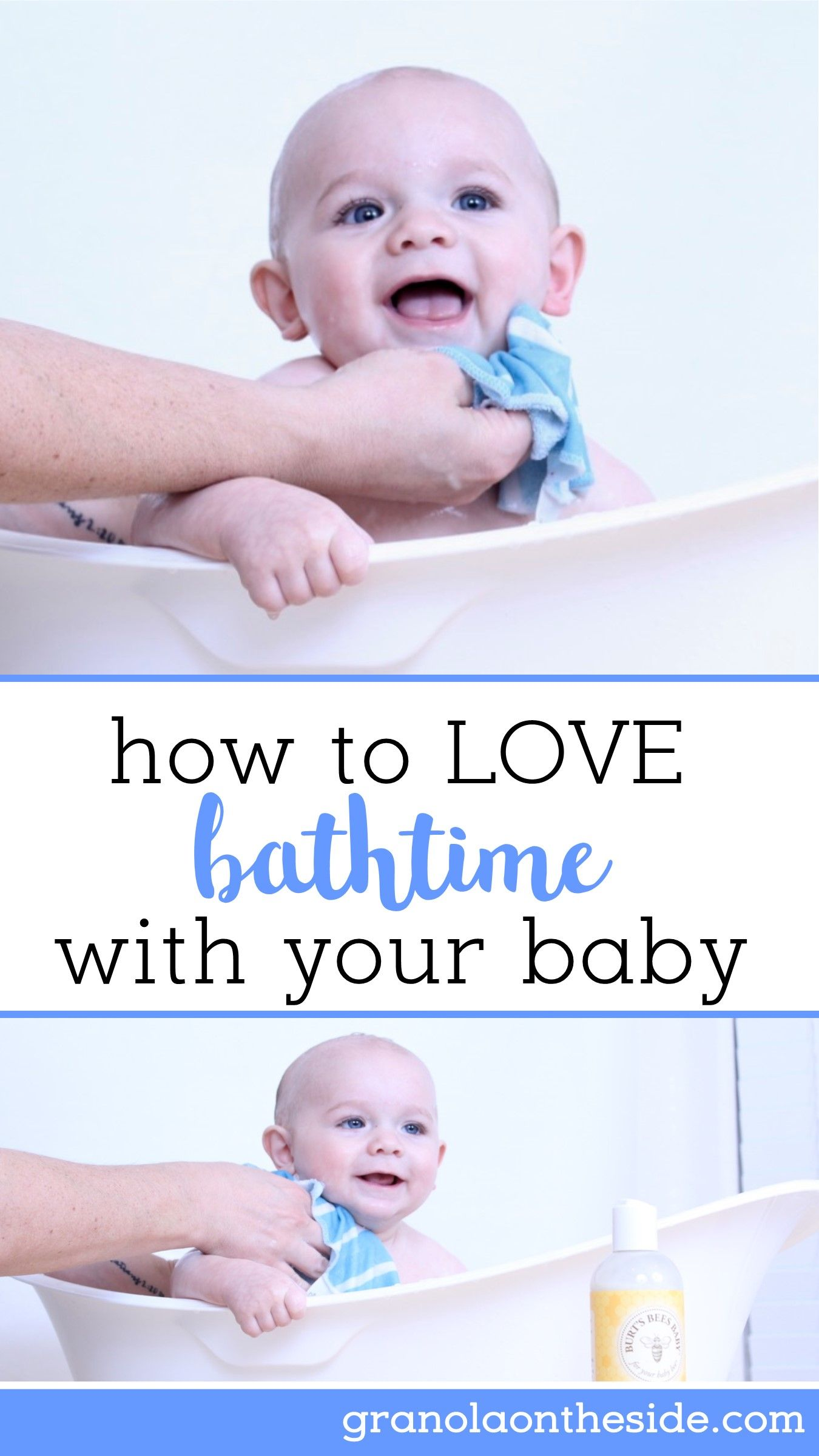 Loving baby bath time with Burt\'s Bees | Parenting | Pinterest ...
