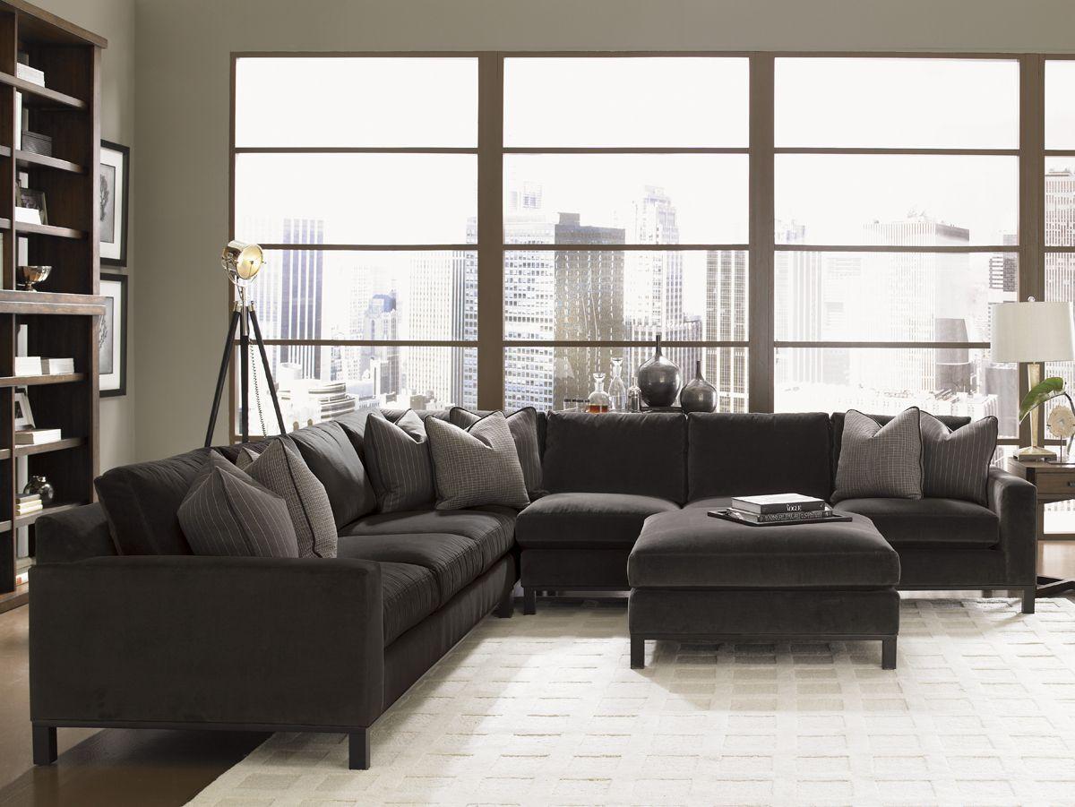 11 South Chronicle Sectional Lexington Home Brands Lexington Home Living Room Sets