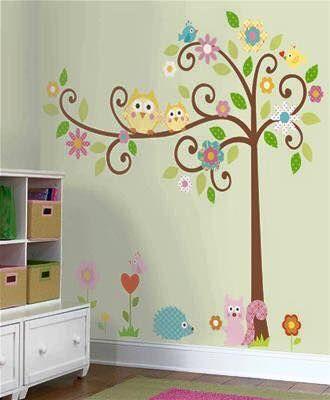 Mod les de d coration murale pour chambre de b b for Decoration murale chambre bebe