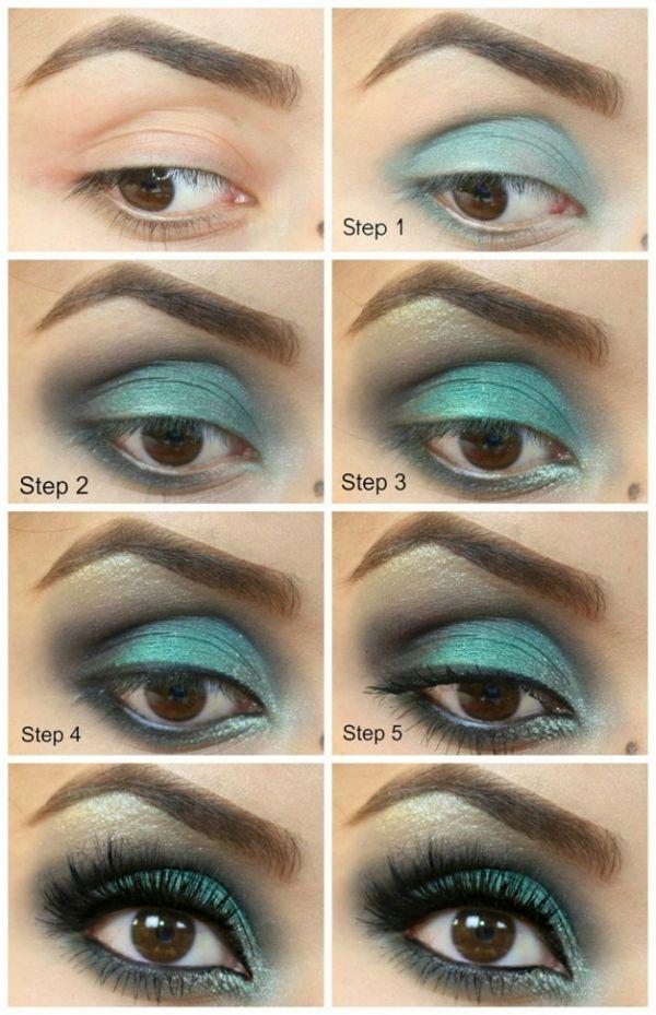 Coole Schminktipps Fur Braune Augen Augen Kosmetik Makeup Eye