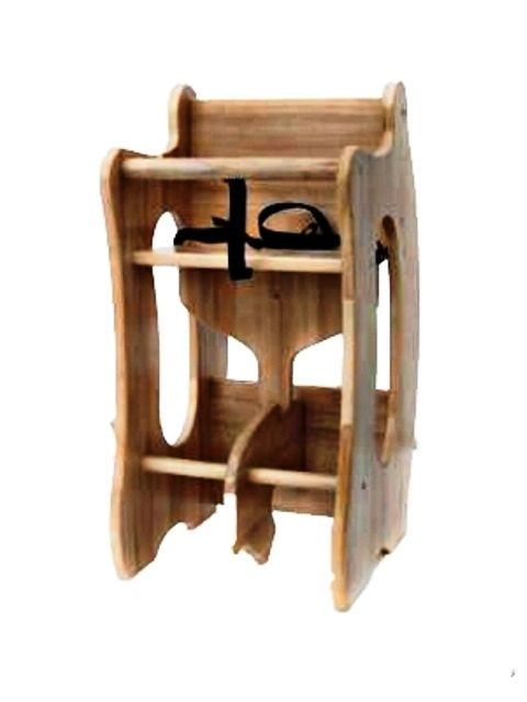 New 3 In1 Tri Chair High Rocking Horse Child Desk Wood