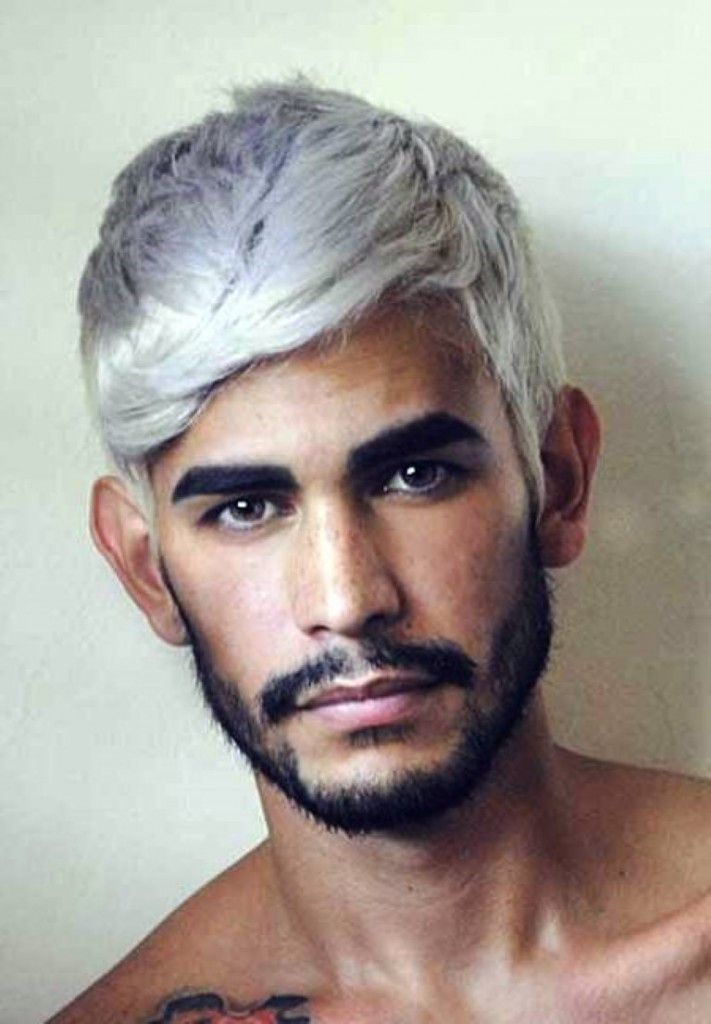 blue color Modern male hairstyle | Hair ideas | Pinterest | Male ...