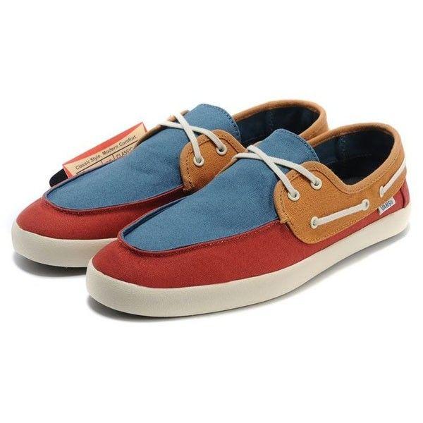 6c4835e2dfb1 Vans Rata Vulc Shoes Mens Casual Canvas Sneakers BlueRedBrown  vans4u4067   -  39.99   Vans Shop