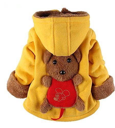 5681472916d7 Yan s Baby Winter Coat Jacket Thick Wool Inside Kids Warm Winter Top (2-3  Year Old