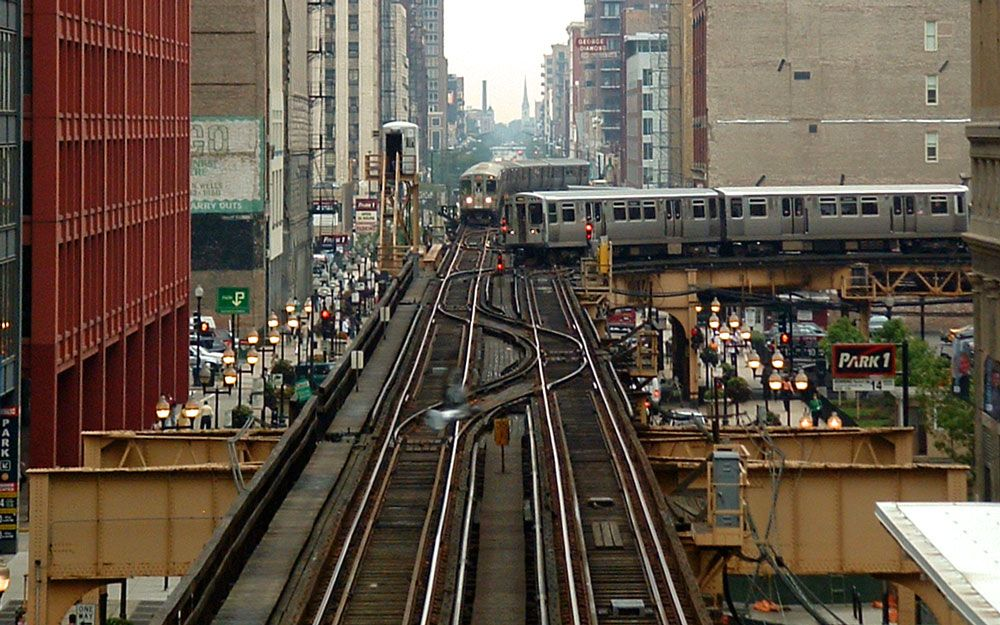 Brown Line (CTA) - Wikipedia, the free encyclopedia Chicago