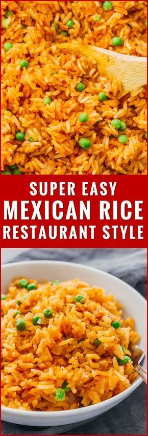 Easy Stovetop Mexican Rice (Restaurant Style) - Savory Tooth #whitericerecipes