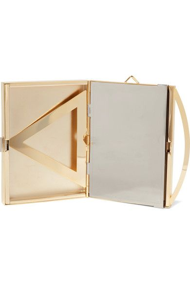 box clutch bag - Metallic Eddie Borgo reqOI9