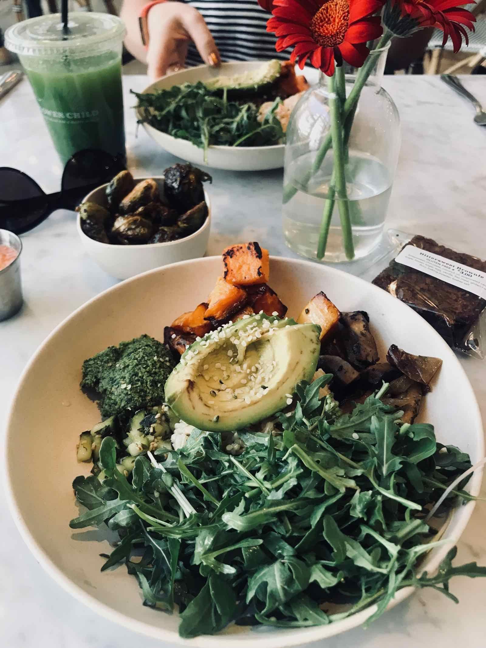 The Actor S Diet Lynn Chen Recipe Bowls Recipe Sweet Potato Spinach Vegetarian Recipes