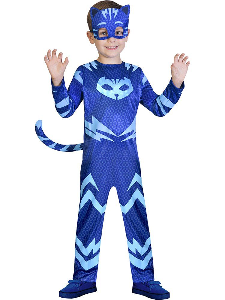 PJ Masks Owlette Catboy Gekko Fancy Dress Costume Halloween Toddler Kids