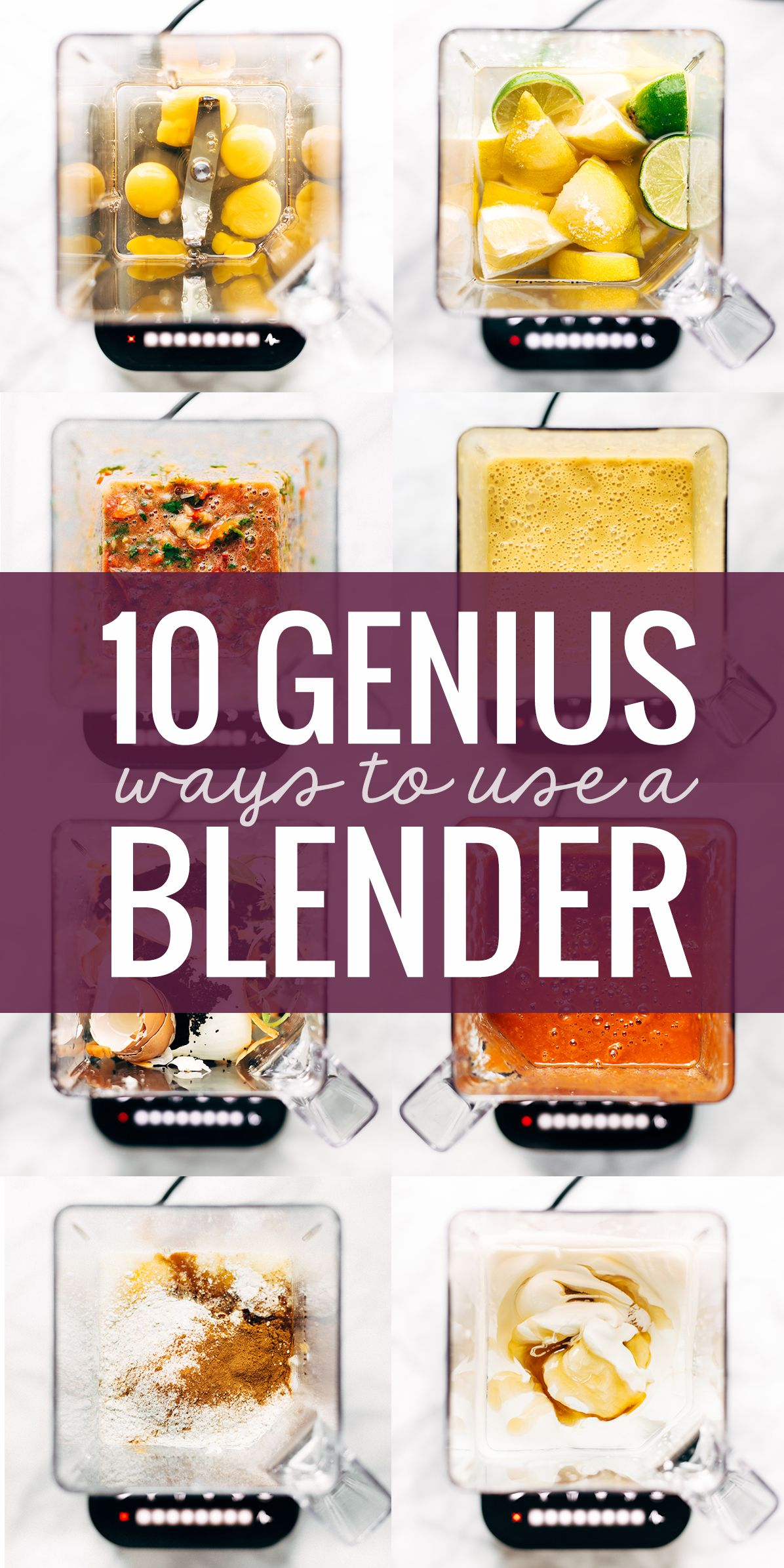 can you use a vitamix blender as a food processor
