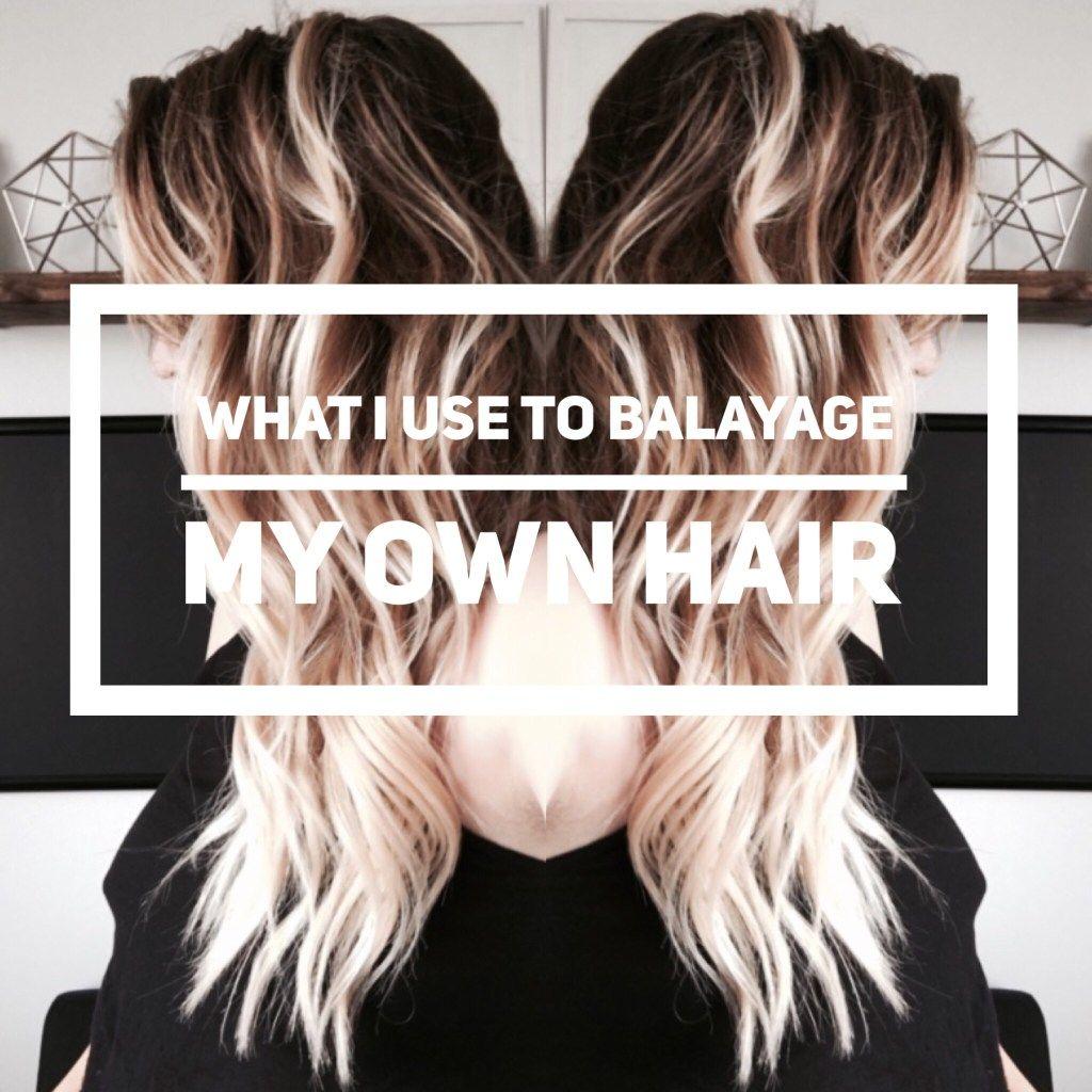 What i use to balayage my own hair balayage hair coloring and what i use to balayage my own hair balayage hair coloring and hair style solutioingenieria Choice Image