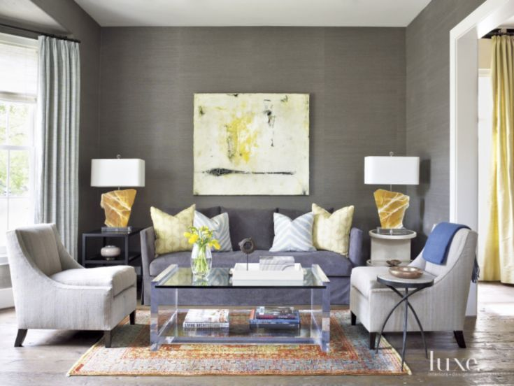 Living Room Design Planner Adorable 3Semiprecious Stone Accents Designer Chandos Dodson Epley Added Decorating Design