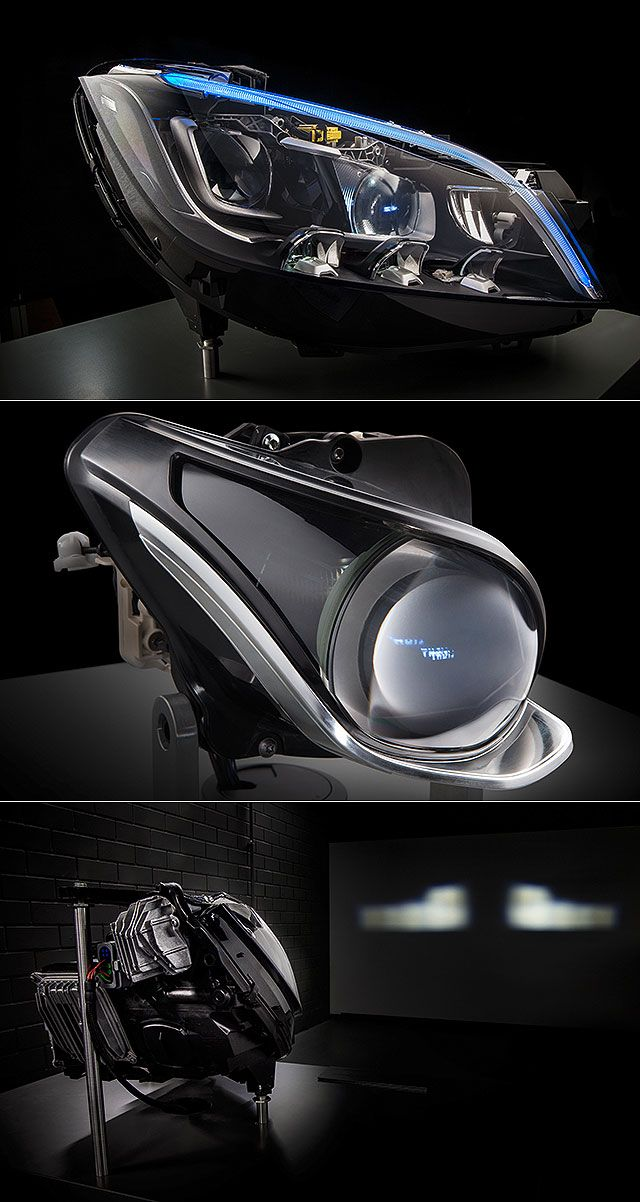 Mercedes Multibeam LED headlights   CARS   Bmw design