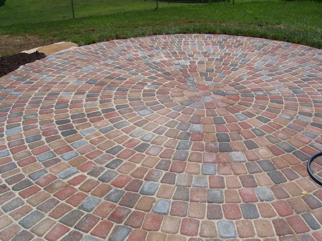 diy backyard patio cheap paver designs for brick patios ... on Diy Backyard Patio Cheap id=26182