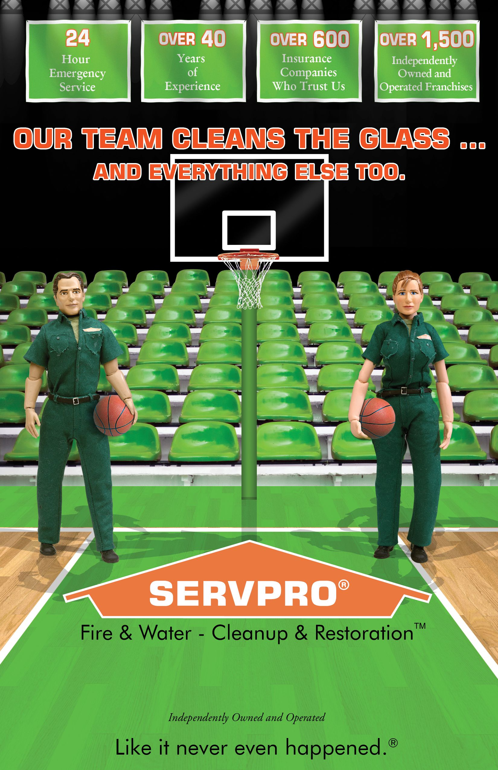Call Servpro Of Rockingham County For All Your Cleaning Needs 336 573 4345 Rockingham County Water Damage Decatur