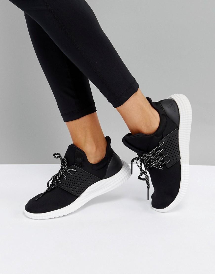 Asos Adidas Adidas Athletics 24 7 Sneakers In Black Black