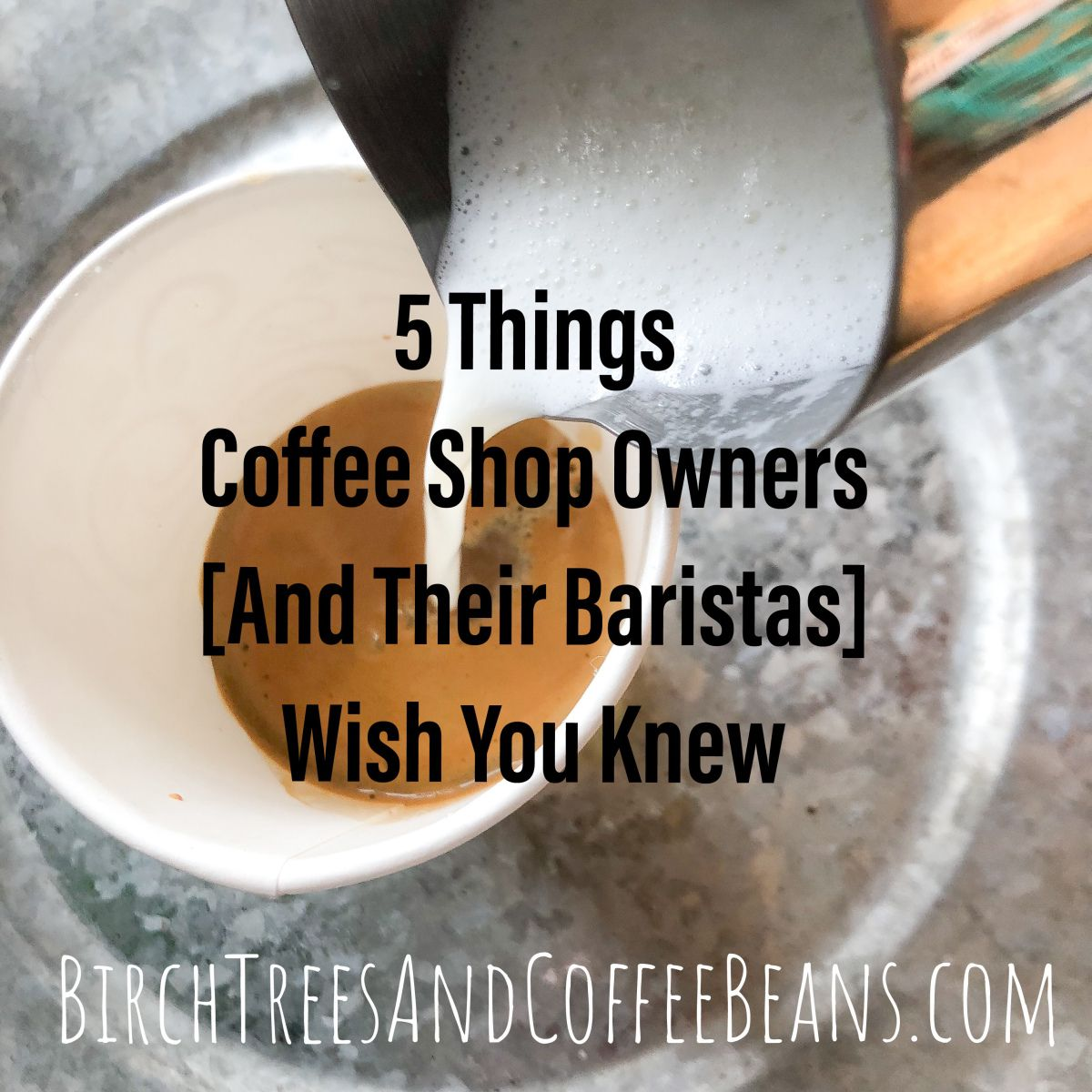5 Things Coffee Shop Owners and Baristas Wish You Knew