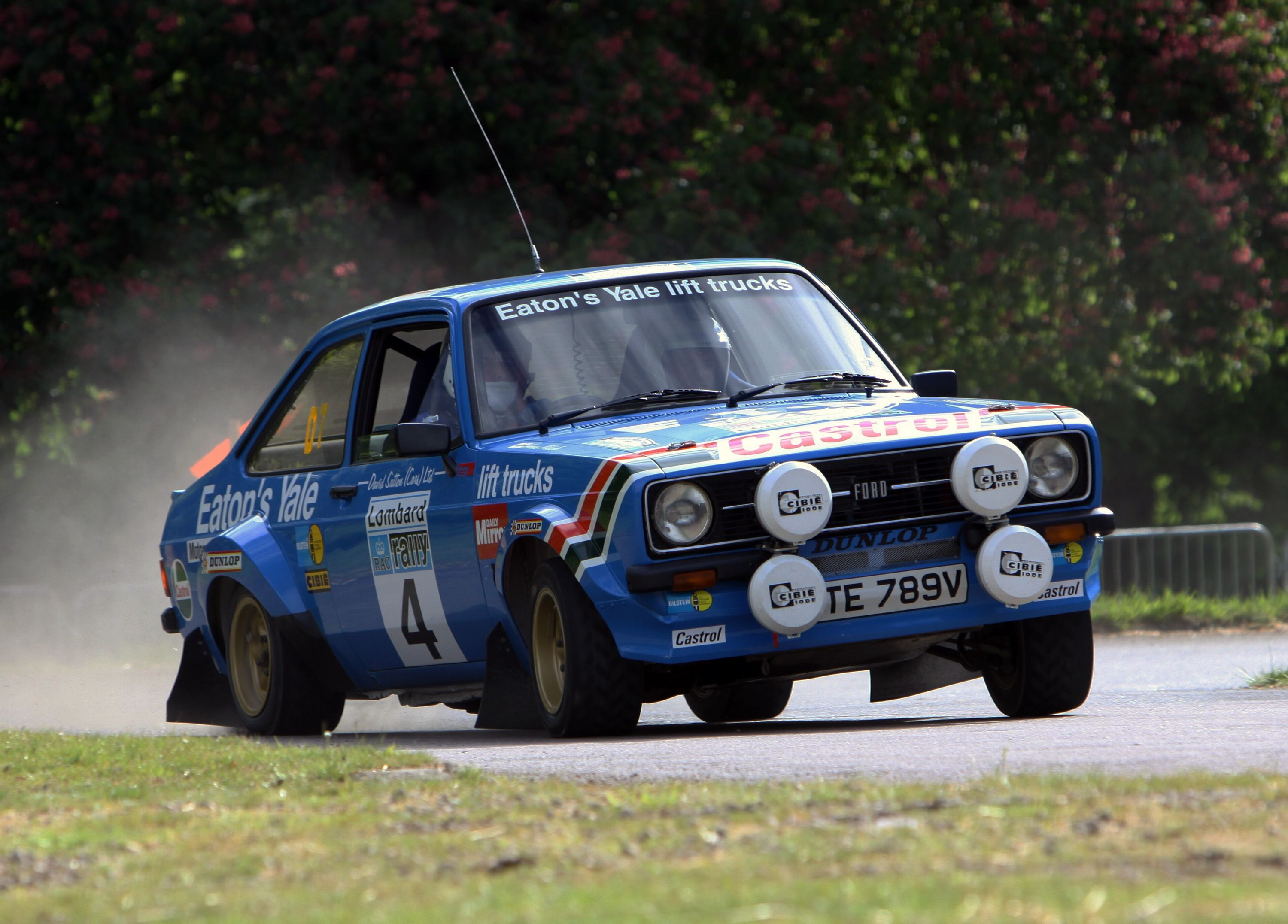 Ford Escort Mk2 Rally Car | Classic Cars | Pinterest | Ford escort ...
