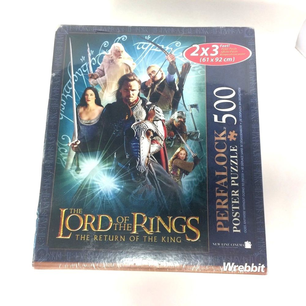 Perfalock Lord of The Rings Puzzle 500pc Aragorn 2x3
