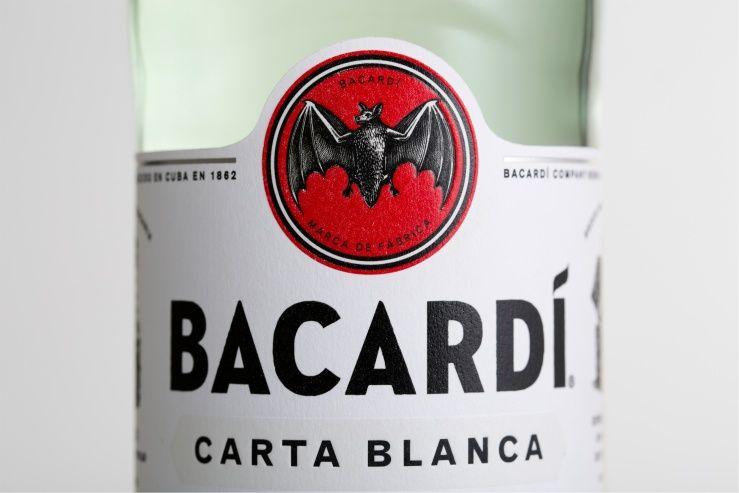 Here design bacardi bacardi packaging design
