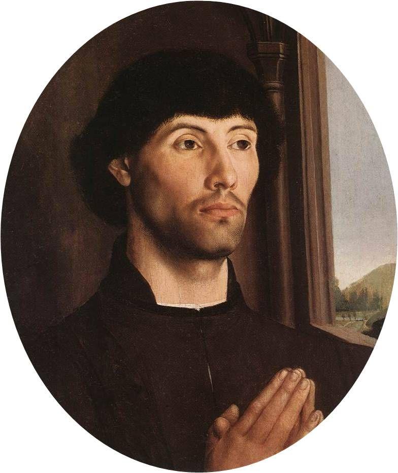 휘호 판 데르 후스, 남자의 초상, 1475, 메트로폴리탄 미술관