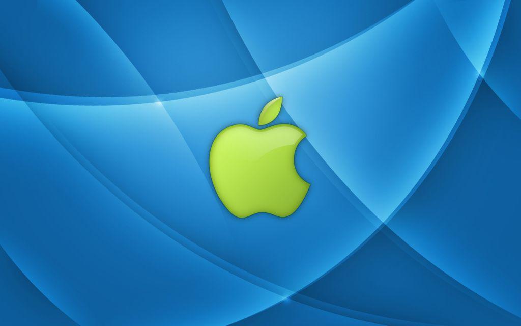 apple logo Green Bing images Wallpaper app, Apple logo