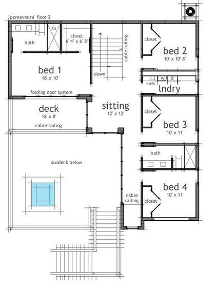 Sketchup casa container planos de casas planos house for Casa minimalista 60m2